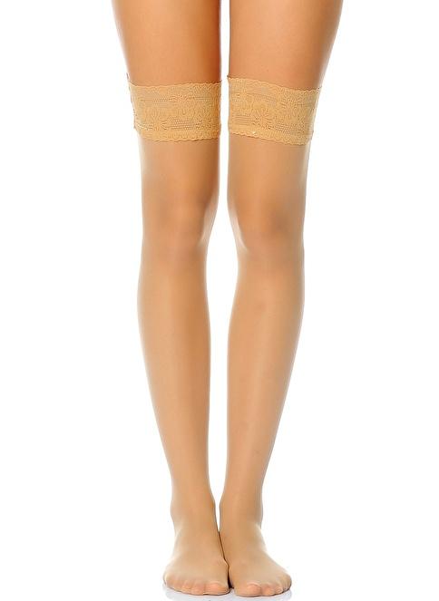 Golden Lady Çorap Krem